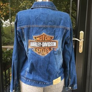 Harley Davidson Motorcycles Youth Jean Jacket